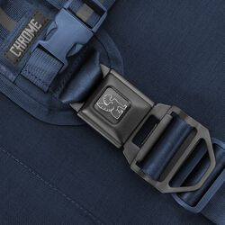 Citizen Messenger Bag in Navy Tonal - hi-res view.