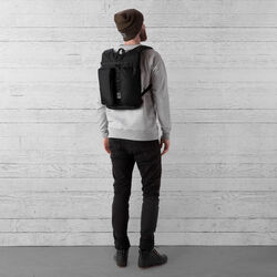 MXD Fathom Backpack in All Black - wide-hi-res view.