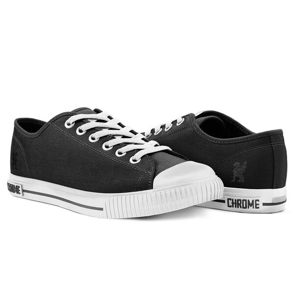 Kursk Sneaker in Black / White - hi-res view.
