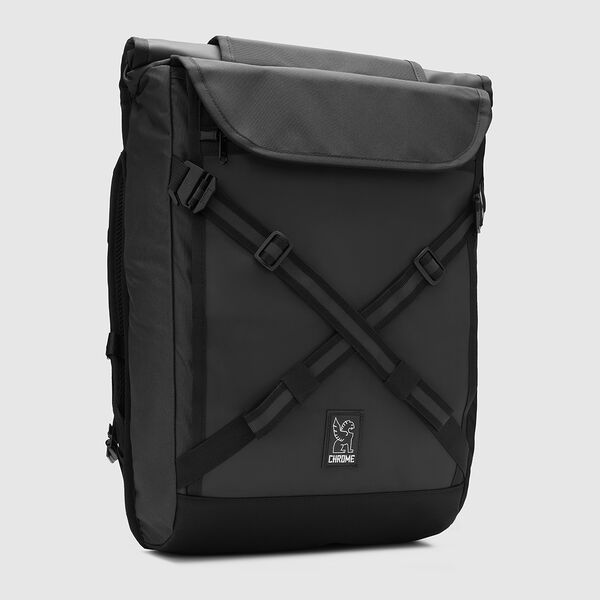 The Welterweight Bravo 2.0 Backpack in Charcoal / Black - medium view.
