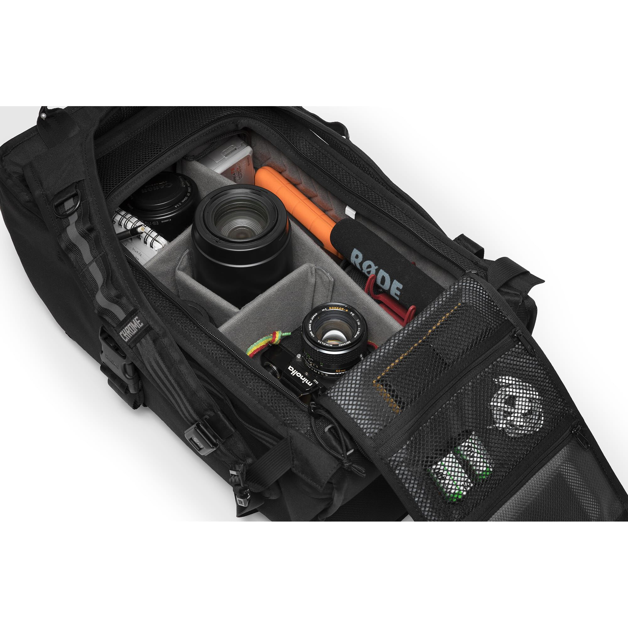 Niko F Stop Camera Backpack Fits Laptops Up To 13 20h X 10w Nikon Tas Kamera In All Black Small View
