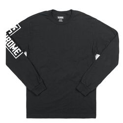 Flying Lion Long Sleeve Tee in Black - hi-res view.