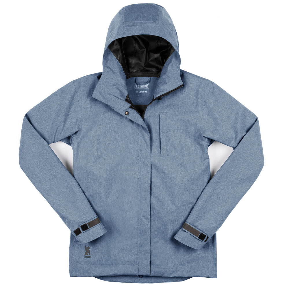 Women's Storm Signal Jacket in Poseiden - hi-res view.