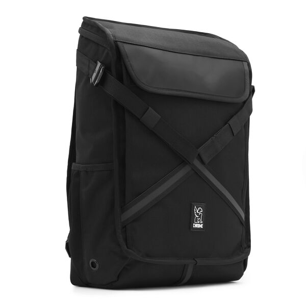 Echo Bravo Backpack in All Black - medium view.