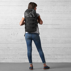 Kliment Backpack in Black / Black - wide-hi-res view.