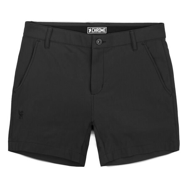 Women's Seneca Short in Black - hi-res view.