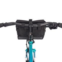 Doubletrack Handlebar Sling in Black - hi-res view.