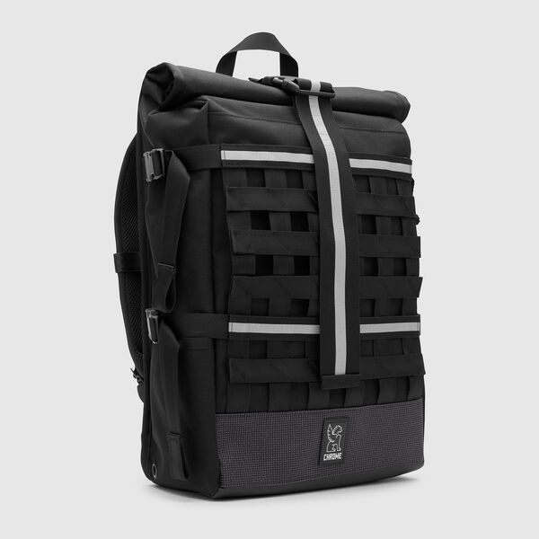 Barrage Cargo Backpack in Night / Black - medium view.