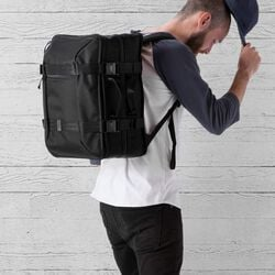 Macheto Travel Pack in All Black - small view.