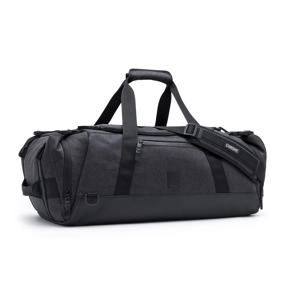 Spectre Duffle Bag in Black - large view.