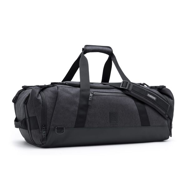 Spectre Duffle Bag in Black - medium view.