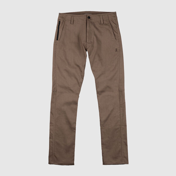 Blake Cycling Chino Pant in Shitake - medium view.