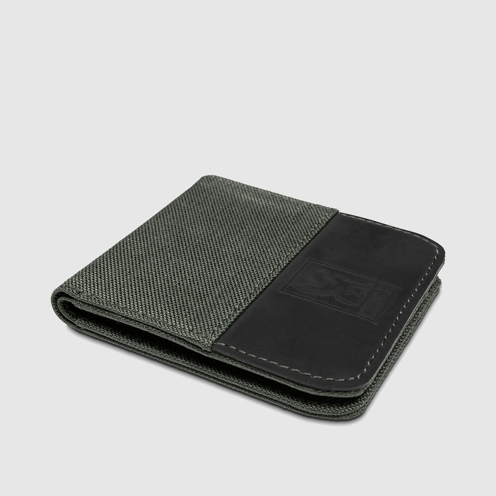 Nylon Bifold Wallet in  - large view.