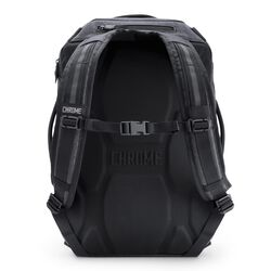 Summoner Backpack in Grey Black - hi-res view.