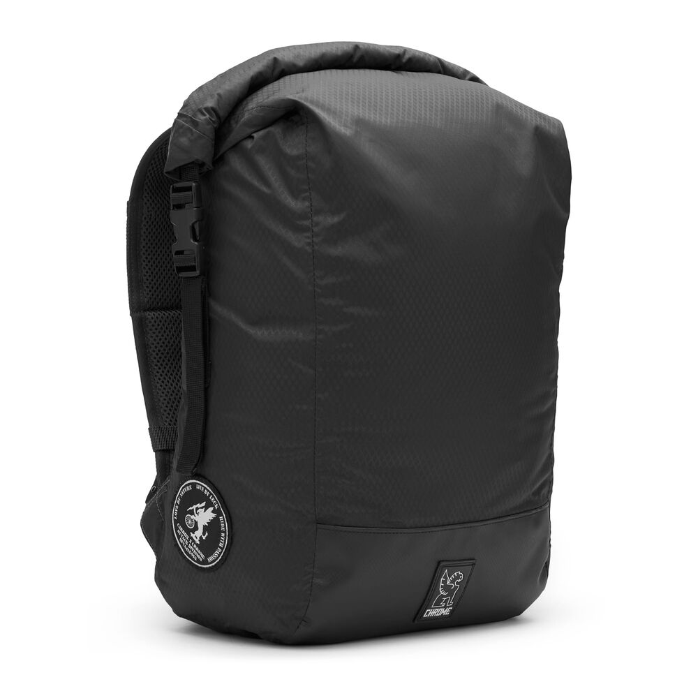 The Cardiel Orp Backpack in Black - large view.