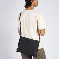 Mini Shoulder Bag MD in Black - hi-res view.
