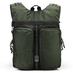 MXD Fathom Backpack in Olive Ballistic - hi-res view.