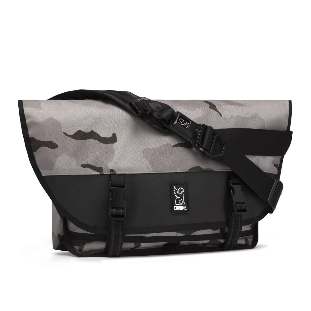 Citizen Messenger Bag in Desert Camo - hi-res view.