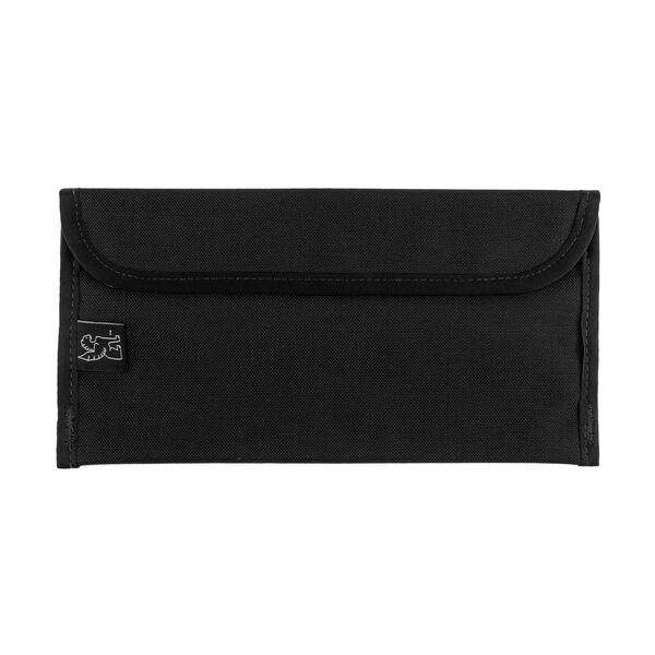 Large Utility Pouch in Black - hi-res view.