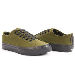 Kursk AW Sneaker in Olive Leaf - hi-res view.