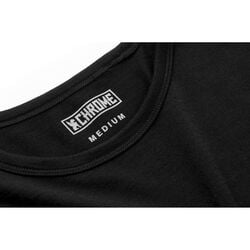Merino Short Sleeve Tee in Black  - hi-res view.