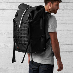 Barrage Pro Backpack in Black - hi-res view.
