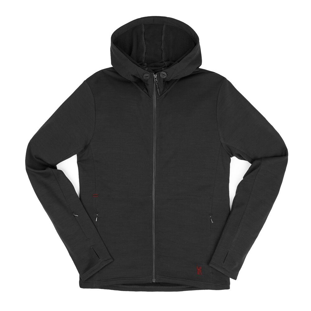 b61e002d90933 Merino Wool Cobra Hoodie - Form Meets Function - Long Sleeve ...