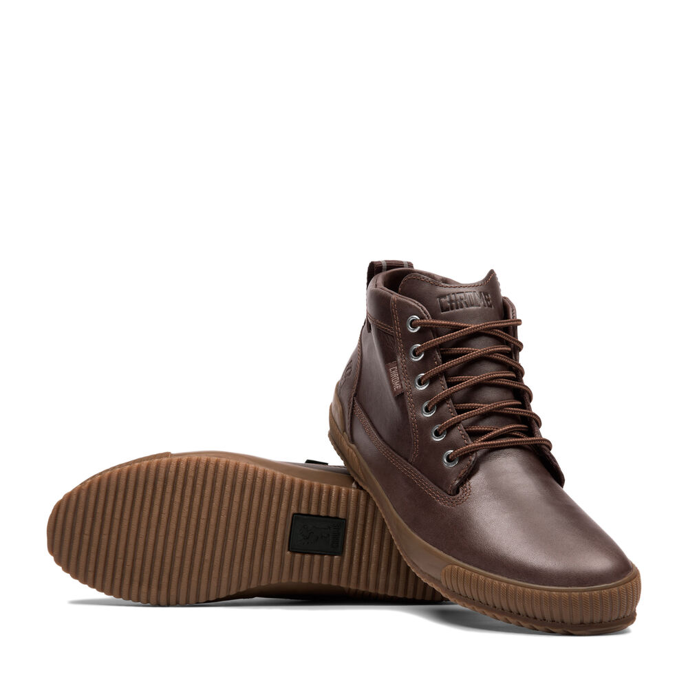 Storm 415 Workboot in Amber Leather / Gum - large view.