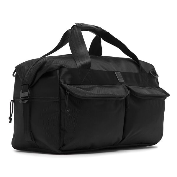 Surveyor Duffle Bag In All Black Medium View