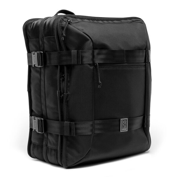 Macheto Travel Pack in All Black - medium view.