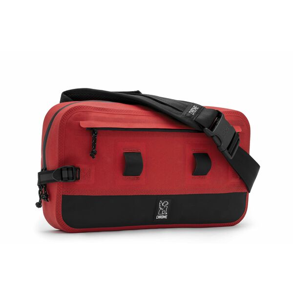 Urban Ex 10L Sling Bag in Red / Black - medium view.