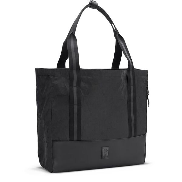 Civvy Messenger Tote in BLCKCHRM - hi-res view.