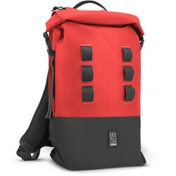 Urban Ex Rolltop 18L Backpack in Red / Black - hi-res view.