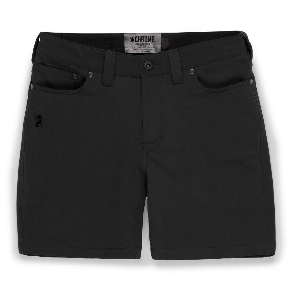 Women's Anza Short in Black - large view.