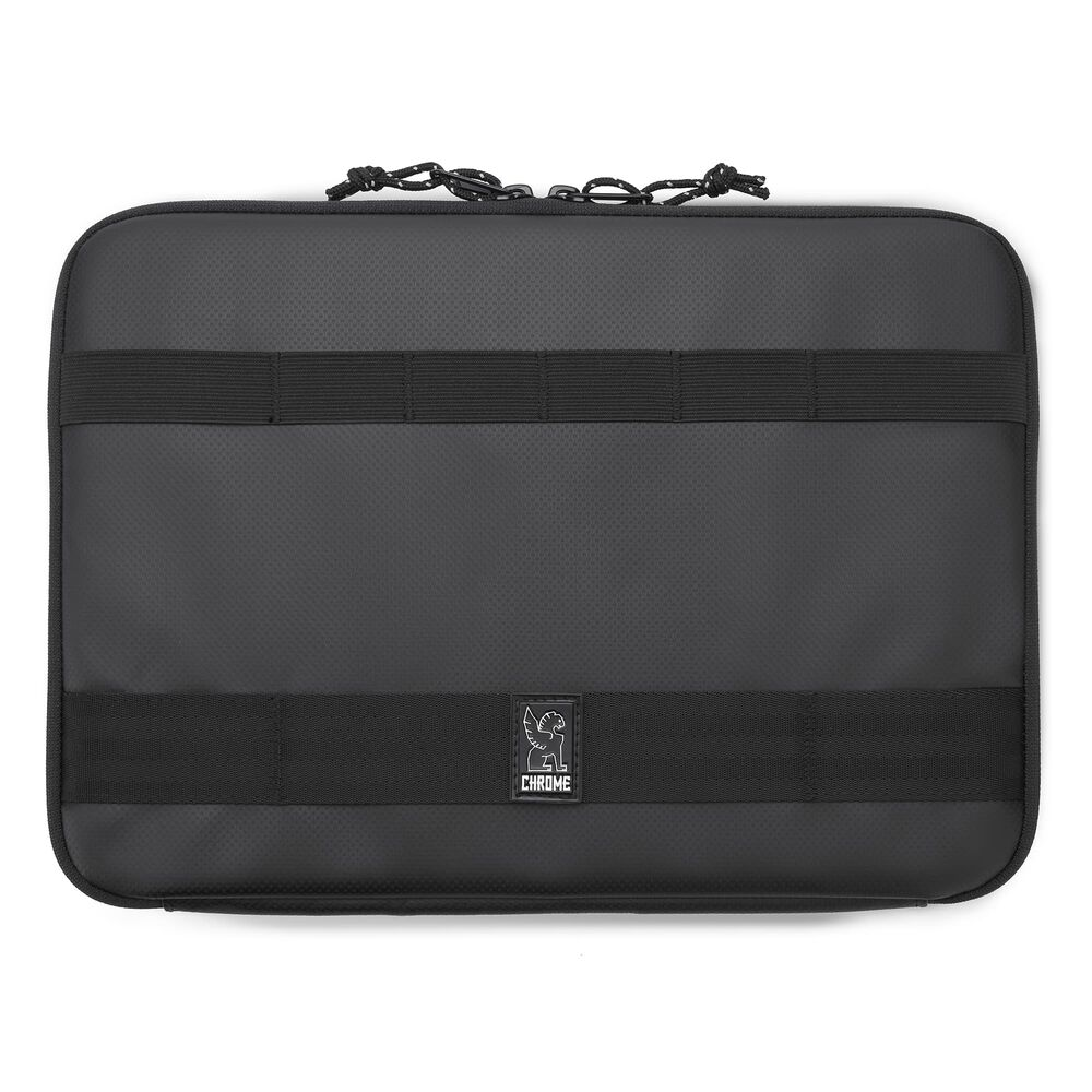 Medium Laptop Sleeve in Black / Black - hi-res view.
