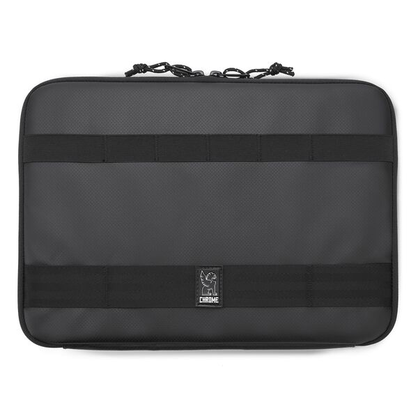 Medium Laptop Sleeve in Black - hi-res view.