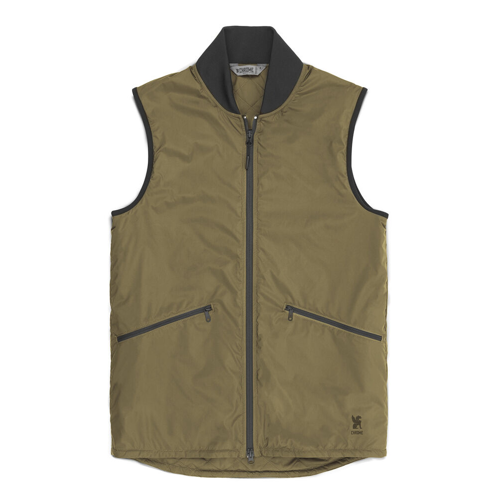 Bedford Insulated Vest in Ranger - large view.