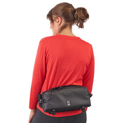 Kovac Sling Bag in Black - hi-res view.