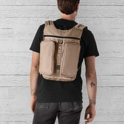 MXD Fathom Backpack in Dune - hi-res view.