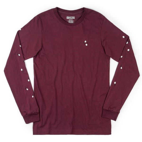 DKlein Long Sleeve Tee in Micro - medium view.