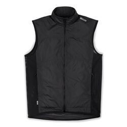DKLEIN Zip Wind Vest in Black - small view.