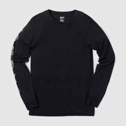 DKlein Long Sleeve Tee in Black - small view.