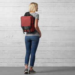 Soma Sling Messenger in Brick - hi-res view.