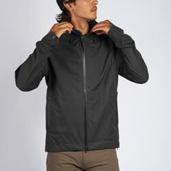 Storm Salute Commute Jacket in Black - hi-res view.