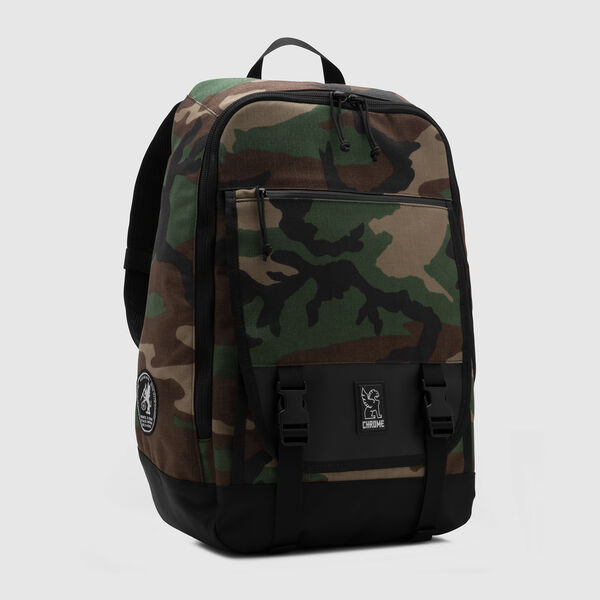 Cardiel Fortnight 2.0 Backpack in Camo - medium view.