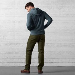 Hawthorne Zip Hoodie in Indigo - wide-hi-res view.