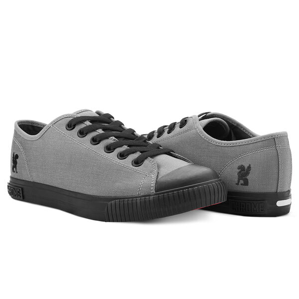 Kursk Sneaker in Grey / Black - hi-res view.