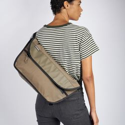 Simple Messenger in Stone Grey - hi-res view.