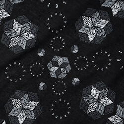 DKlein Bandana in Black - small view.