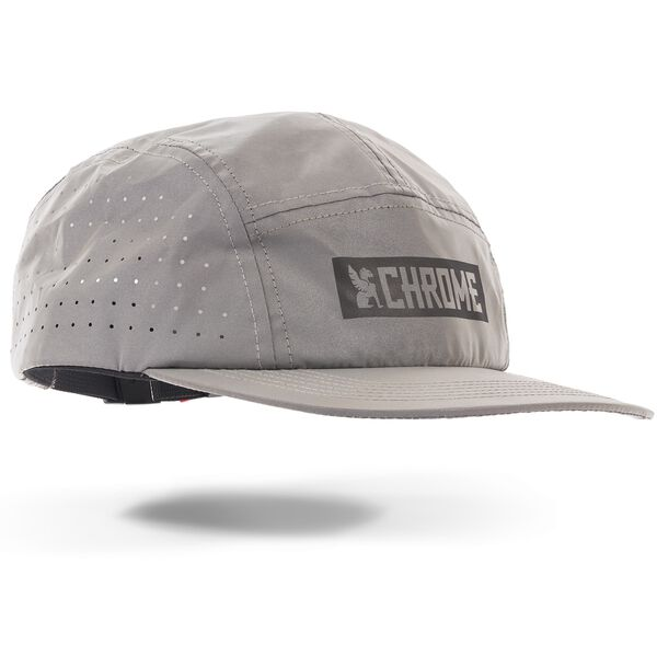 5 Panel Hat in Reflective - hi-res view.